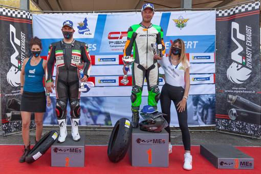 Moto Crv: Esordio stagionale con un secondo posto per Luca Figerod