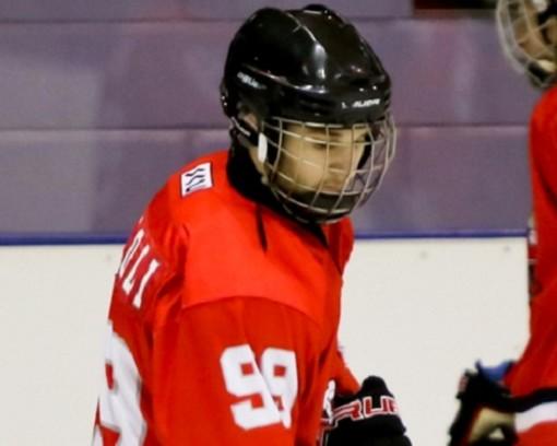 Hockey ghiaccio: IHL1; Nicolò Napoli salva l'onore dei Gladiators a Torre Pellice