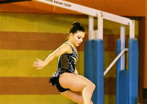 Ginnastica: La Gym-Aosta  ai nazionali Gold  con Alessia Toscano