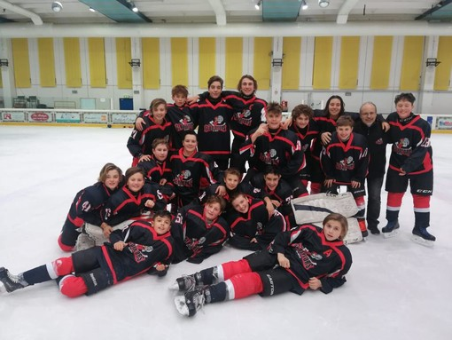 Hockey: U15; I giovani Gladiators sanno solo vincere