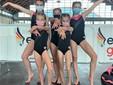 Foto 3: Margot Vallet, Noélie Benato, Alice Esposito, Annalucia Tosi e Adelina Bulat