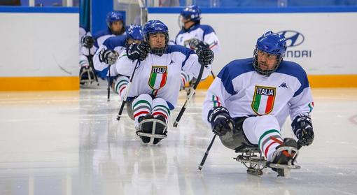 Para Ice Hockey, l'Italia sul ghiaccio per preparare i Mondiali