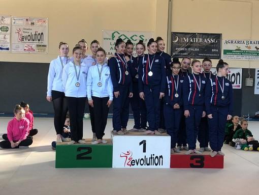 Ginnastica: 'Ritmo Day, la Gym Aosta due volte sul podio a Vezza d'Alba