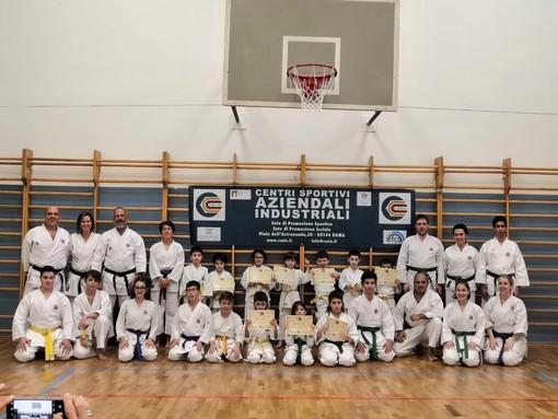 Karate: Le nuove cinture assegnati agli atleti di Libera Energia Karate
