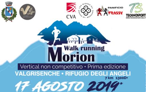 Walk running: Il vertical Morion ultimo nato a Valgrisenche