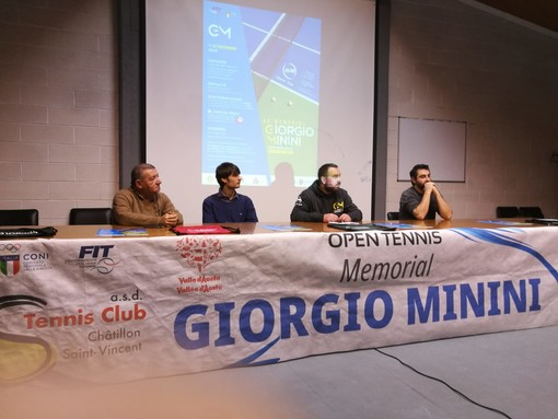 Da sn Piergiorgio Ottenga, Alessandro Minini, Alessandro Morise e Diego Joyeusaz