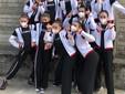 Foto di gruppo delle due squadre junior-senior