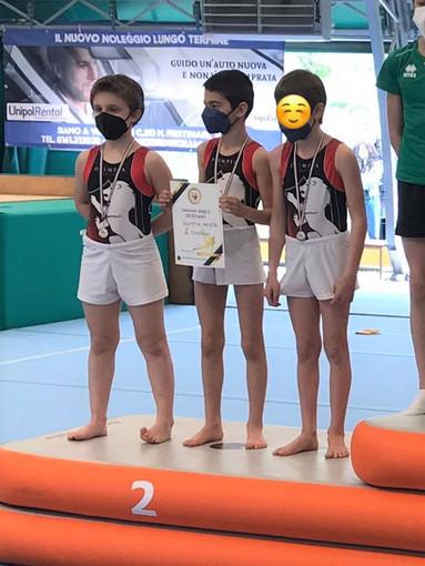 La squadra LA Gabriele Mordenti, Eric Mombelli, e Elia Borre
