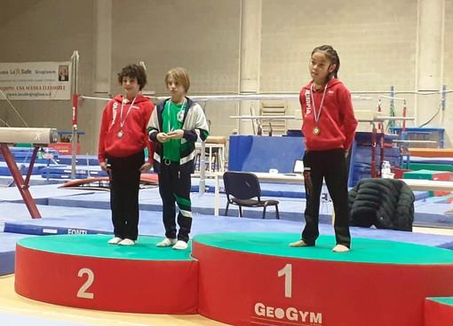 Gabriel Fuccio e Kien Fogliadini sul podio