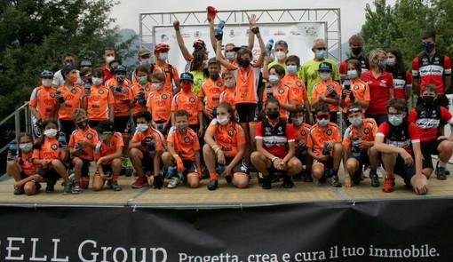 Ciclismo: All'Orange Bike Team la prima tappa del Grand Prix Giovanissimi a La Salle