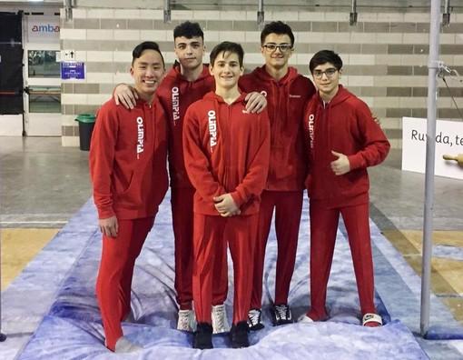 La squadra maschile in trasferta ad Ancona