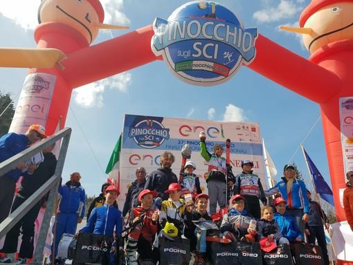 Sci alpino: 290 Cuccioli alla selezione del Pinocchio Sci di Courmayeur