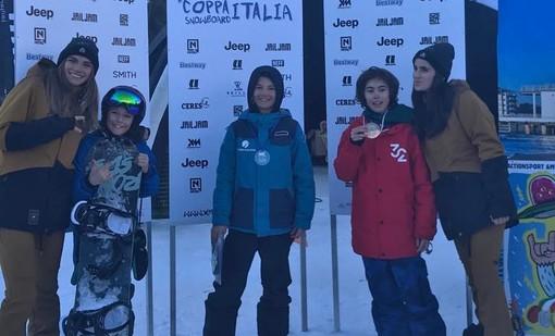 CpI Snowboard: Francesia, Moresi e Benvenuti vincono a Prato Nevoso