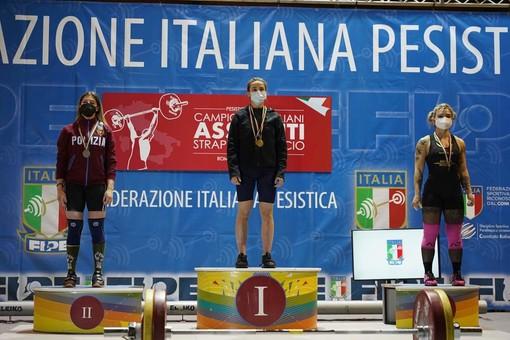 Pesistica: Noemi Kraia agli italiani assoluti alza il bronzo
