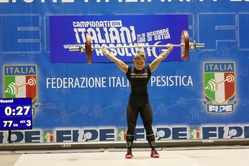 Pesistica: Noemi Kraja d'Argento alla Finale nazionale degli Italiani Assoluti