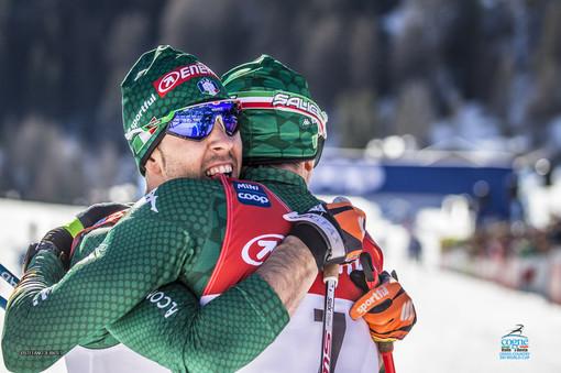 Fondo: Federico Pellegrino e Francesco De Fabiani danno spettacolo a Cervinia al Nordic Opening