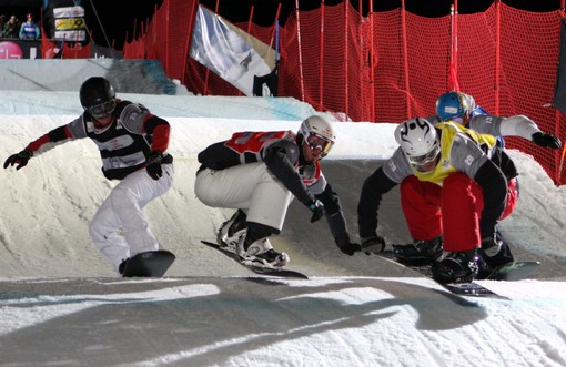 Snowboardcross: Coppa del Mondo a dicembre a Cervinia
