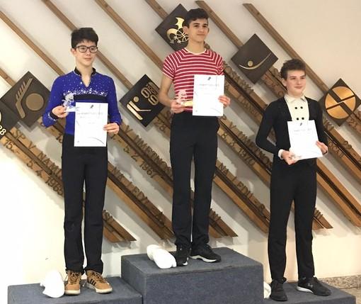 Pattinaggio artistico: Dragon Trophy a Indelicato e podio per Mosca Barberis a Lubiana