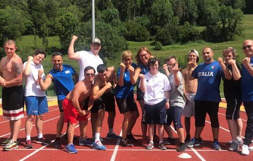 IL raduno degli atleti della FISDIR, Federazione Italiana Sport Paralimpici degli Intellettivo Relazionali