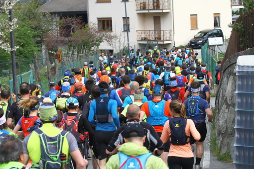 Il Tour Trail VdA dona 1400 euro per la lotta al coronavirus