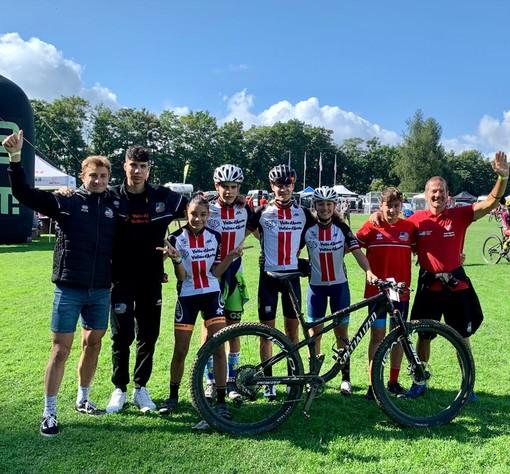Ciclismo: Valle d'Aosta sul podio nella Team relay per Comitati a Barga