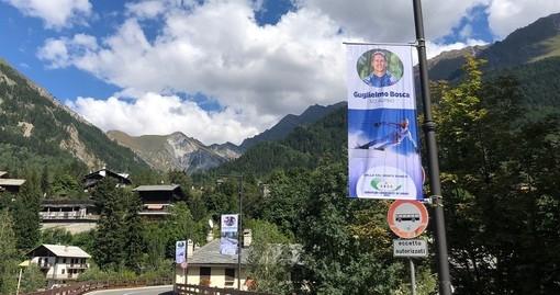 I testimonial sportivi delle valli del Monte Bianco sventolano in Valdigne